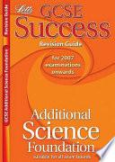 GCSE OCR Additional Science Higher Success Workbook