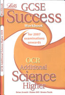 GCSE OCR Additional Science Higher Success Workbook