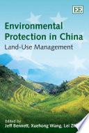 Environmental protection in China