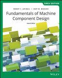 Fundamentals of Machine Component Design Book PDF
