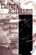 Cultural Activisms Book