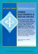 Power Electronics Motor Drives Book PDF