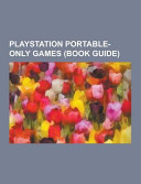 Playstation Portable Only Games