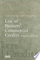 Gutteridge and Megrah s Law of Bankers  Commercial Credits