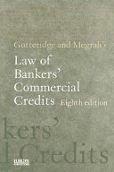 Gutteridge and Megrah's Law of Bankers' Commercial Credits Pdf/ePub eBook
