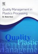 Quality Management in Plastics Processing