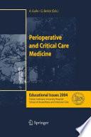 Perioperative and Critical Care Medicine
