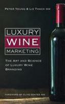 Luxury Wine Marketing Book