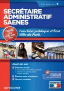 Secrétaire administratif SAENES Catégorie B. Fonction publique d'état Ville de Paris concours 2014