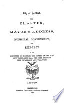 Organization of the City Government  for the Year     Book
