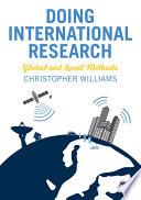 Doing International Research