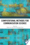 Computational Methods For Communication Science