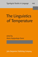 The Linguistics of Temperature