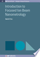 Introduction to Focused Ion Beam Nanometrology