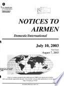 Notices to Airmen Book