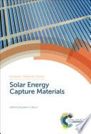 Solar Energy Capture Materials