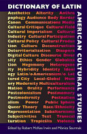 Dictionary of Latin American Cultural Studies