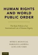 Human Rights and World Public Order [Pdf/ePub] eBook