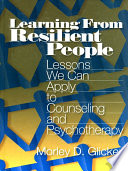 Learning from Resilient People Book