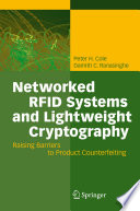 Networked RFID Systems and Lightweight Cryptography Book