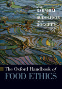Pdf The Oxford Handbook of Food Ethics