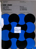 Canadian Journal of Chemistry Book