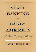 Pdf State Banking in Early America