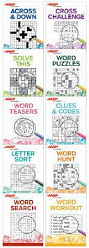 Aarp 10 Book Puzzle Set Large Print