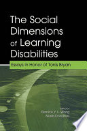 The Social Dimensions of Learning Disabilities