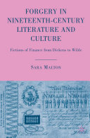 Forgery in Nineteenth-Century Literature and Culture Pdf/ePub eBook