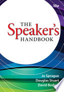 """The Speaker's Handbook"" by Jo Sprague, Douglas Stuart, David Bodary"