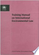 Training Manual On International Environmental Law