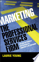 Marketing the Professional Services Firm Book