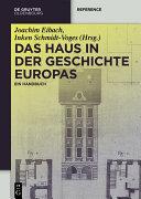 Pdf Das Haus in der Geschichte Europas Telecharger