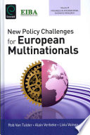 New Policy Challenges For European Multinationals Book PDF