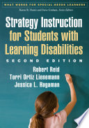 Strategy Instruction for Students with Learning Disabilities  Second Edition Book PDF