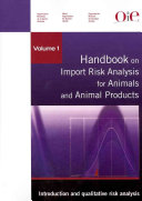 Handbook on Import Risk Analysis for Animals and Animal Products