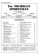 The Michigan Sportsman