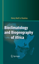 Bioclimatology and Biogeography of Africa