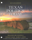 Bndl  Llf Texas Politics Today 2015 2016