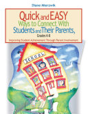 Quick and Easy Ways to Connect with Students and Their Parents  Grades K 8