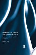 Pakistan S Inter Services Intelligence Directorate
