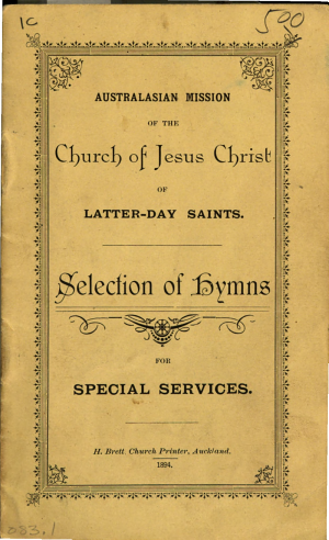 Selection of Hymns for Special Services (1894)