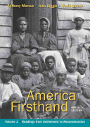 America Firsthand, Volume I
