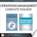 The Operations Management Complete Toolbox Collection