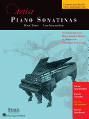Piano Sonatinas   Book Three  Developing Artist Original Keyboard Classics