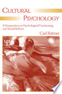 Cultural Psychology Book PDF