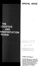 The Logistics And Transportation Review