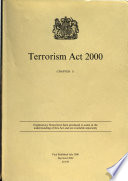 Terrorism Act 2000