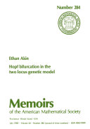 Hopf Bifurcation in the Two Locus Genetic Model